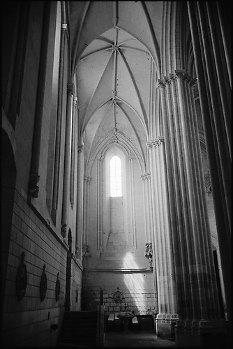 La Collegiale, de Candes Saint Martin by Paul Cooklin   All Rights Reserved