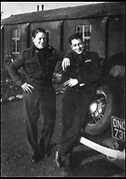 BNPS.co.uk (01202 558833)<br /> Pic: Pen&amp;Sword/BNPS<br /> <br /> Colin with Sergeant Shep herd RAAF, at Aston Down. &lsquo;Shep&rsquo; was one of the four very original characters of &lsquo;A&rsquo; Flight with whom Colin became friends.<br /> <br /> he remarkable story of a British hero double amputee pilot who took to the skies during the Second World War has come to light.<br /> <br /> Flight Lieutenant Colin Hodgkinson lost his legs in a horror crash in a Tiger Moth in May 1939 but went on to emulate Sir Douglas Bader and fly Spitfires in the Royal Air Force.<br /> <br /> He even endured a spell in the Great Escape prisoner of war camp after being shot down over France in 1943 but rejoined the RAF after being repatriated.<br /> <br /> The pair were the only two British double amputee pilots to fly during the war - yet while Bader, rightly, is a household name, Flt Lt Hodgkinson's exploits have been largely forgotten.<br /> <br /> This has prompted historian Mark Hillier to publish Flt Lt Hodgkinson's autobiography 60 years after it was penned which he hopes will shine some limelight on a 'special' man whose courage he says was every bit as great as Baders'.<br /> <br /> Best Foot Forward, by Colin Hodgkinson, is published by Pen &amp; Sword.