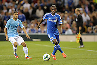 Ramires , Chelsea in action..Manchester City defeated Chelsea 4-3 in an international friendly at Busch Stadium, St Louis, Missouri.