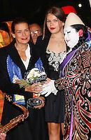 Princess Stephanie Of Monaco & daughter Camille at 39th Monte-Carlo Circus Festival