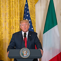 APR 20 President Trump and Italian Prime Minister Gentiloni hold a joint news conference in the WH