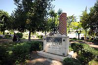 Colleferro.Monumenti ai caduti sul lavoro.