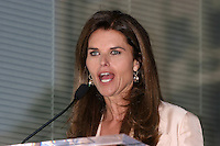 Maria Shriver.Susan Saint James receives a Star on the Hollywood Walk of Fame. Los Angeles, CA.June 11, 2008.©2008 Kathy Hutchins / Hutchins Photo .