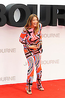 LONDON, ENGLAND - JULY 11: Lisa Snowdon attending the 'Jason Bourne' European Premiere at Odeon Cinema, Leicester Square on July 11, 2016 in London, England.<br /> CAP/MAR<br /> &copy;MAR/Capital Pictures /MediaPunch ***NORTH AND SOUTH AMERICAS ONLY***