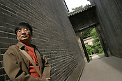 Acclaimed Chinese poet Ye Yanbing, at the Chen Clan Academy in Guangzhou as part of the Think UK Writers Train project. The Think UK China Writers Train is a project, in collaboration with the British Council, to take 4 UK writers/poets and 4 Chinese writers/poets around China by train visiting 6 major cities, in 17 days, to hold talks, seminars and readings of their work.