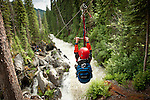 Canadian Mountain Holidays Heli-hiking vacations, Bobbie Burns Lodge,  British Columbia, Canada