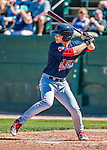 5 September 2016: Lowell Spinners outfielder Ryan Scott in action against the Vermont Lake Monsters at Centennial Field in Burlington, Vermont. The Monsters defeated the Spinners 9-5 to close out their 2016 NY Penn League season. Mandatory Credit: Ed Wolfstein Photo *** RAW (NEF) Image File Available ***