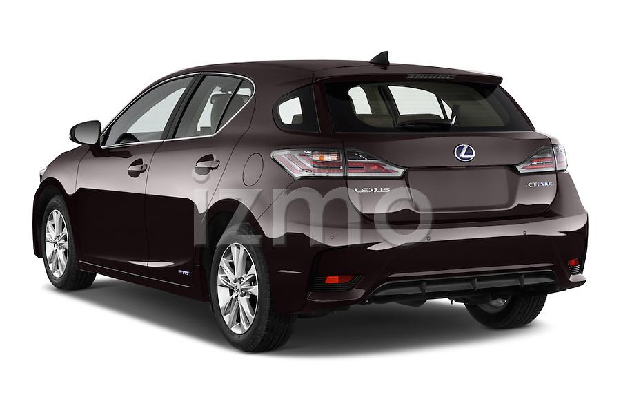 2015 lexus ct executive 5 door hatchback 2wd angular rear car pictures izmostock. Black Bedroom Furniture Sets. Home Design Ideas