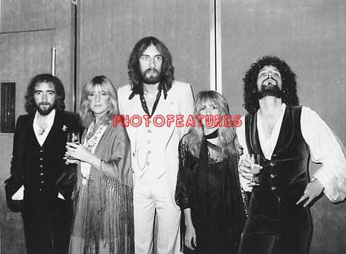 Fleetwood Mac 1978   John McVie, Christine McVie, Mick Fleetwood, Stevie Nicks, Lindsey Buckingham...© Chris Walter..