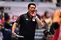 Masayoshi Manabe Japan Women's Volleyball Team Head coach (JPN), NOVEMBER 17,2011 - Volleyball : FIVB Women's Volleyball World Cup 2011,4th Round Tokyo(A) during match between Japan 3-2 Germany at 1st Yoyogi Gymnasium, Tokyo, Japan. (Photo by Jun Tsukida/AFLO SPORT) [0003]