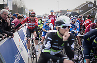 Kris Boeckmans (BEL/Lotto-Soudal) at the start<br /> <br /> 60th E3 Harelbeke (1.UWT)<br /> 1day race: Harelbeke &rsaquo; Harelbeke - BEL (206km)
