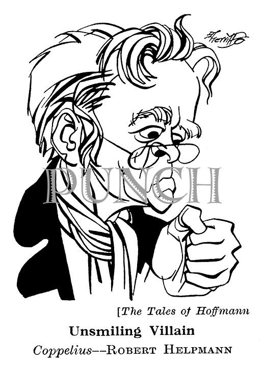 The Tales of Hoffmann ; Robert Helpmann