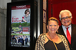 Guiding Light's Kim Zimmer poses with friend Greg Anselni at the Barn Theatre - A Celebration at Feinsteins/54 Below, New York City, New York on April 28. 2017. Barn Theatre is located in Augusta, Michigan.  (Photo by Sue Coflin/Max Photos)