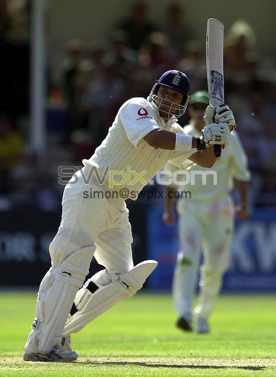 Pix: Matthew Lewis/SWpix.com. International Cricket. Third NPower Test. England v South Africa, Trent Bridge. 14/08/03..COPYRIGHT PICTURE>>SIMON WILKINSON>>0870 092 0092>>..England's Mark Butcher.