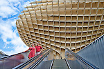 Metropol Parasol building, Seville, Spain