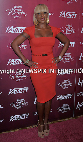 """MARY J BLIGE.attends the Variety's 3rd Annual Power of Women Luncheon at the Beverly Wilshire Four Seasons Hotel, Beverly Hills, Los Angeles_23/09/2011.Mandatory Photo Credit: ©Crosby/Newspix International. .**ALL FEES PAYABLE TO: """"NEWSPIX INTERNATIONAL""""**..PHOTO CREDIT MANDATORY!!: NEWSPIX INTERNATIONAL(Failure to credit will incur a surcharge of 100% of reproduction fees).IMMEDIATE CONFIRMATION OF USAGE REQUIRED:.Newspix International, 31 Chinnery Hill, Bishop's Stortford, ENGLAND CM23 3PS.Tel:+441279 324672  ; Fax: +441279656877.Mobile:  0777568 1153.e-mail: info@newspixinternational.co.uk"""