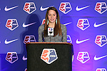 16 January 2015: Shea Groom (Texas A&M) was selected with the twelth overall pick by FC Kansas City. The National Women's Soccer League Draft was held at the Pennsylvania Convention Center in Philadelphia, Pennsylvania.