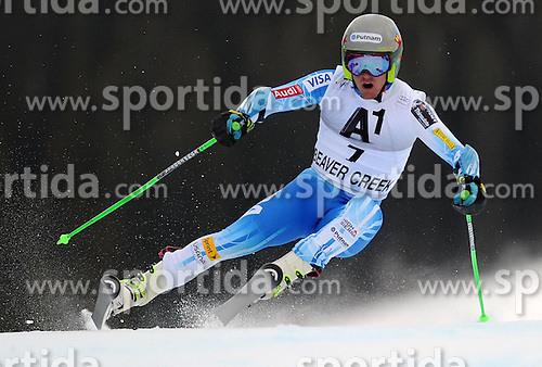 07.12.2014, Birds of Prey Course, Beaver Creek, USA, FIS Weltcup Ski Alpin, Beaver Creek, Herren, Riesenslalom, 1. Lauf, im Bild Ted Ligety (USA) // Ted Ligety of the USA in actionduring the 1st run of men's Giant Slalom of FIS Ski World Cup at the Birds of Prey Course in Beaver Creek, United States on 2014/12/07. EXPA Pictures © 2014, PhotoCredit: EXPA/ Erich Spiess