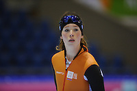 SCHAATSEN: HEERENVEEN: 31-01-2014, IJsstadion Thialf, Training Topsport, Antoinette de Jong, ©foto Martin de Jong