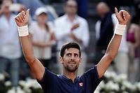 20170518 ROMA-TENNIS: ATP MASTER 1000 NOVAK DJOKOVIC BATTE ROBERTO BAUTISTA AGUT
