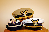 California, Point Arena, Coast Guard House, Naval caps