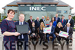 Paul Sherry Kellarney Chamber Of Commerce and  Liz Maher Chairperson and the Kerry Expo team launching its website in the INEC on Friday