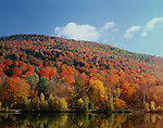 King's Pond, autumn, Green Mountain National Forest, Vermont