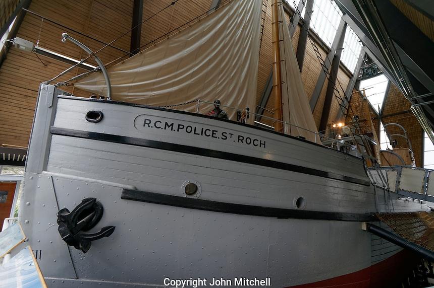RCMP St. Roch schooner, Vancouver Maritime Museum, Vancouver, BC, Canada