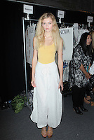 NEW YORK, NY - SEPTEMBER 10: Backstage at Academy of Art University Spring 2016 Collections at The Arc, Skylight at Moynihan Station on September 10, 2016 in New York City. Credit: DC/Media Punch