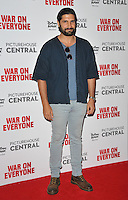 Kayvan Novak at the &quot;War On Everyone&quot; UK film premiere, Picturehouse Central, Corner of Shaftesbury Avenue and Great Windmill Street, London, England, UK, on Thursday 29 September 2016.<br /> CAP/CAN<br /> &copy;CAN/Capital Pictures /MediaPunch ***NORTH AND SOUTH AMERICAS ONLY***