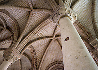 Rib vault, chevet, 13th century, Abbey church of Saint Denis, Seine Saint Denis, France. Picture by Manuel Cohen