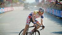 2013 Giro d'Italia.stage 6: Mola di Bari - Margherita di Savoia .169 km..Adam Hansen (AUS) in a local lap in Margherita di Savoia