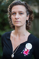 Kaaren Haldeman, leader of the North Carolina chapter of Moms Demand Action for Gun Sense at her home in Durham, N.C. on Tuesday, January 14, 2014. (Justin Cook)