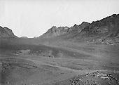 Desert landscape, Wadi er Raha, Sinai, c. 1910. Photograph by American Colony, Jerusalem.