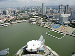 Art-Science Museum and Marina Bay waterfront