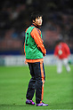 Ryo Miyaichi (JPN), FEBRUARY 29, 2012 - Football / Soccer : Ryo Miyaichi of Japan warms up at halftime during the 2014 FIFA World Cup Asian Qualifiers Third round Group C match between Japan 0-1 Uzbekistan at Toyota Stadium in Aichi, Japan. (Photo by Takahisa Hirano/AFLO)