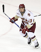 Cam Atkinson (BC - 13) leads the Eagles in scoring with 12 points (8 goals/4 assists). - The Boston College Eagles defeated the visiting University of Maine Black Bears 4-0 on Friday, November 19, 2010, at Conte Forum in Chestnut Hill, Massachusetts.