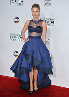 LOS ANGELES, CA. November 20, 2016: Actress Rebecca Romijn at the 2016 American Music Awards at the Microsoft Theatre, LA Live.<br /> Picture: Paul Smith/Featureflash/SilverHub 0208 004 5359/ 07711 972644 Editors@silverhubmedia.com