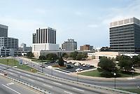 1985 July ..Redevelopment...Downtown South (R-9)..DOWNTOWN FROM BERKELEY BRIDGE...NEG#.NRHA#..