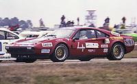 #4 Ferrari 308 GTB,  Romeo Camathias, Sergio Romolotti,  Bob Bondurant, and Dino Mallet 59th place finish, 1978 24 Hours of Daytona, Daytona International Speedway, Daytona Beach, FL, February 5, 1978.  (Photo by Brian Cleary/www.bcpix.com)