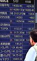 Tokyo stock market on May 7, 2014