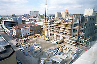 1996 FEBRUARY 13.Redevelopment.Tidewater Community College..TCC PROGRESS & DRAWINGS - DURING..PV9.SCIENCE & ADMIN BUILDING.FROM ROOF...NEG#.NRHA#..