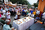 Annual catholic celebration of San Isidro in Tamesis Colombia