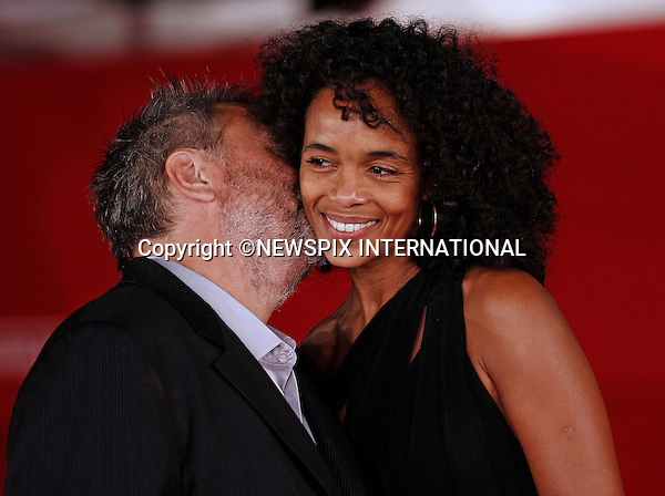 """LUC BESSON  AND VIRGINIE BESSON-SILLA.attend the premiere of """"The Lady"""" at the 6th Rome International Film Festival, Rome, Italy_27/10/2011.Mandatory Credit Photo: ©Ciambelli Sestini/NEWSPIX INTERNATIONAL..**ALL FEES PAYABLE TO: """"NEWSPIX INTERNATIONAL""""**..IMMEDIATE CONFIRMATION OF USAGE REQUIRED:.Newspix International, 31 Chinnery Hill, Bishop's Stortford, ENGLAND CM23 3PS.Tel:+441279 324672  ; Fax: +441279656877.Mobile:  07775681153.e-mail: info@newspixinternational.co.uk"""