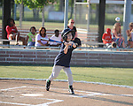 The Mariners' Henry Green vs. the Twins in Oxford Park Commission baseball action at FNC Park in Oxford, Miss. on Thursday, May 3, 2012.