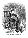 """The American Difficulty. President Abe. """"What a nice White House this would be, if it were not for the blacks!"""""""