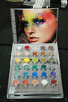 Obsessive Compulsive Cosmetics displayed at the Makeup Show NYC, in the Metropolitan Pavilion, May 15 2011.