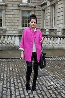 London Fashion Week Street Style portrait