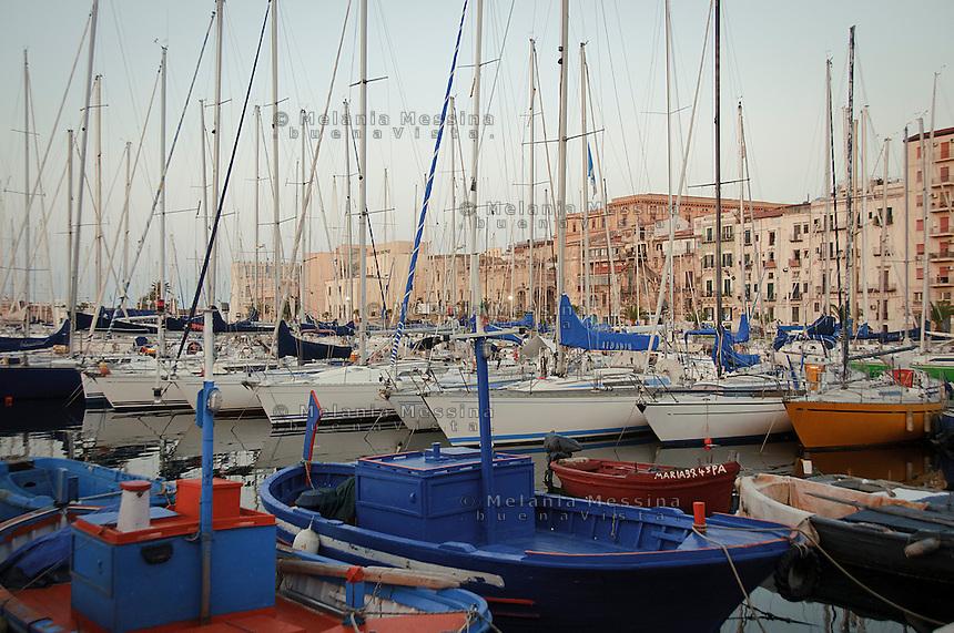 &quot;La Cala harbor&quot; in Palermo.<br /> Porticciolo della Cala a Palermo