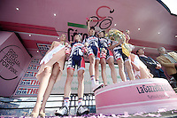 Giro d'Italia stage 13.Savano-Cervere: 121km..Best Team: Lotto-Belisol